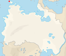 Location of the city within Lhavres.