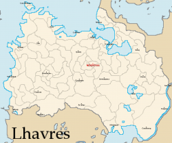 Lhavres Internal Map