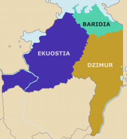 Regions of Barradiwa