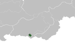 Location of the Greater Samārā Province in Zinsha